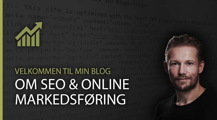Velkommen til min blog om søgemaskineoptimering